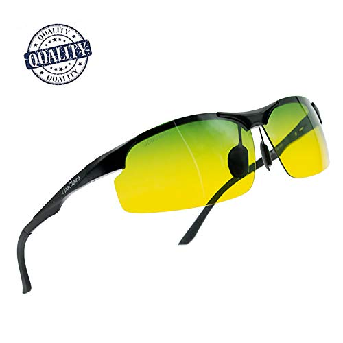 UpaClaire Night Vision Glasses Anti-Glare HD Polarized