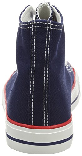 New Look Marko, Zapatillas Altas para Mujer Azul (41/Navy)