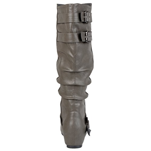 Women's Slouch Brinley Co Wide Boot Calf Cammie Grey wc OxB5waqv