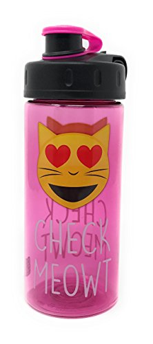 Cute Homemade Halloween Costumes For Adults (Emoji 16 fl oz BPA Free Water Bottle CHECK MEOWT)