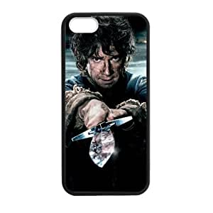 Custom The Hobbit Design PC and TPU Phone Case Cover Laser Technology for iPhone 5,5S