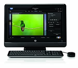HP All-in-One 200-5020 Desktop PC – Black (Discontinued by Manufacturer)