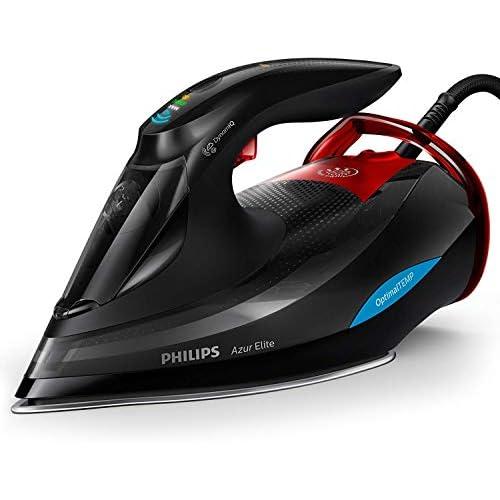 Philips GC5037 80 Azur Elite plancha de vapor dynamiq Sensor 0 35 l 3000 W Negro Rojo