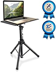 "Pyle-Pro Pro 28""-46"" Universal Device Projector, Height Adjustable Laptop, Computer DJ Equipment Sta"
