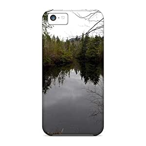 First-class Cases Covers For Iphone 5c Dual Protection Covers Swampy Lake