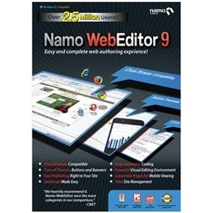 "Sj Namo Interactive, Inc - Namo Webeditor V.9.0 - Web Development - Pc ""Product Category: Software Products/Software"""