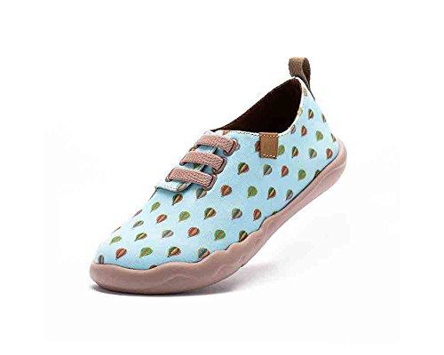 UIN Petits ballon à air chaud Chaussures de toiles casual vert pour enfant (adolescent)