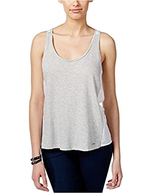 Calvin Klein Womens Colorblocked Tank Top