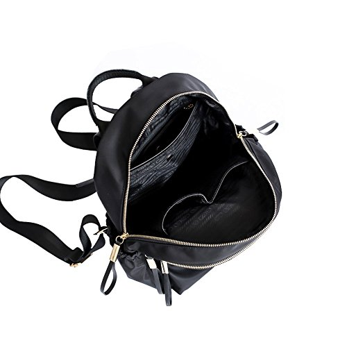 Tela de Bolsa de Backpack Mujer Impermeable Bolsa Mochila Cremallera Bolso Bolsa Bolsa computadora Viaje de Doble de Estudiante de Oxford la la zfxxwvqntI
