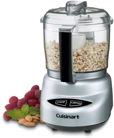 Brushed Chrome and Nickel Color Cuisinart DLC-2ABC Mini Prep Plus Food Processor