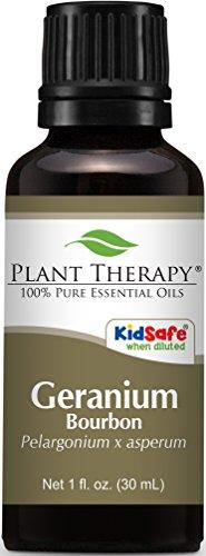 Geranium Bourbon Essential Oil 30 ml (1 oz) 100% Pure, Undiluted, Therapeutic Grade