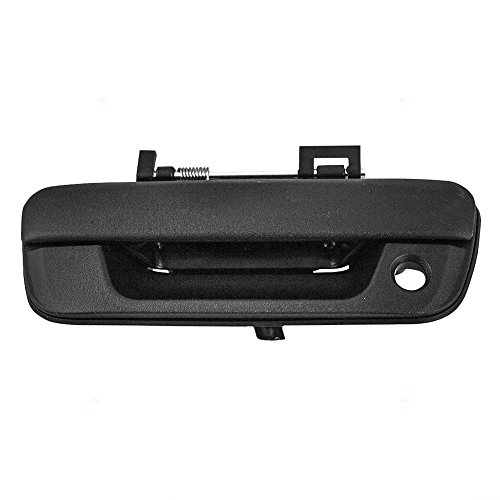 Textured Tailgate Liftgate Handle Replacement with Keyhole for Chevrolet GMC Isuzu Pickup Truck 25801998