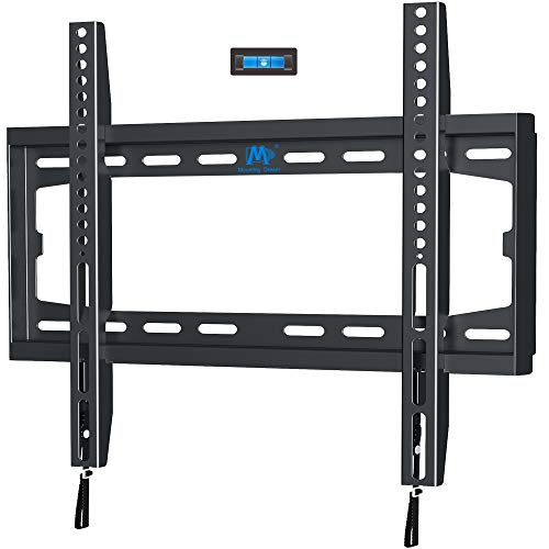 Mounting Dream TV Mount Fixed for 32-55 Inch LED, LCD and Plasma TV, TV Wall Mount Bracket up to VESA 400x400mm and 100 LBS Loading Capacity, Low Profile and Space Saving MD2361-K
