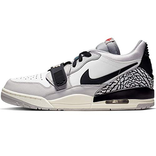 Nike Air Jordan Legacy 312 Low (10.5), Summit White/Fire Red (Mens Nike Jordan Shoes)