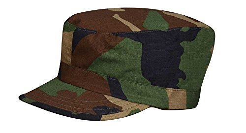 Propper Men's Bdu Patrol Cap - 100% Cotton