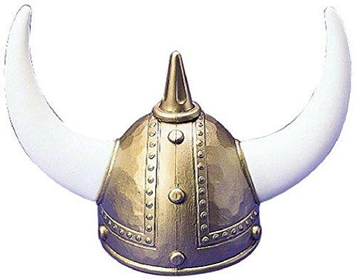 One Adult Plastic Viking Helmet