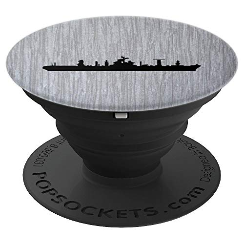 (US Military naval war ship - PopSockets Grip and Stand for Phones and Tablets)