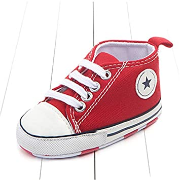 Lovely Spring Summer Canvas Classic Sports Sneakers Newborn Baby Boys Girls First Walkers Shoes Infant Toddler Soft Anti-slip Shoes Easy To Use Mother & Kids