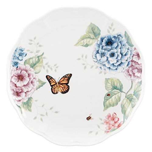 Lenox Butterfly Meadow Hydrangea Dinner Plate, White