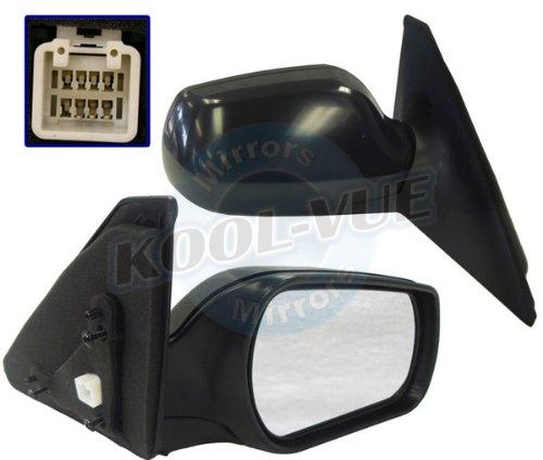 Sedan Mirrors Assembly (Kool-Vue MA43ER Power Passenger Side Mirror Assembly)