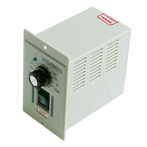 300W Motor Speed Controller 1/3 Phase AC 220V Input DC 0-90V Output Electric Speed Regulator Single Phase Knob Switch