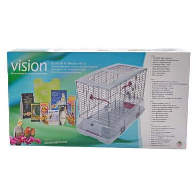 Vision Bird Cage Starter Kit, Large by Vision