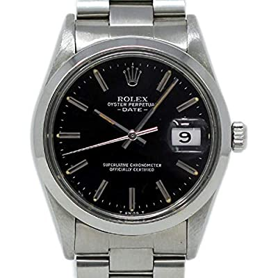 Rolex Date Swiss-Automatic Male Watch 15000 (Certified Pre-Owned) by Rolex