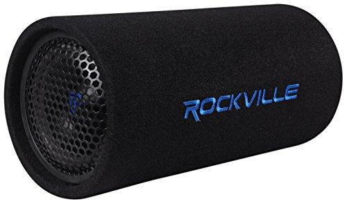 "Rockville RTB65A 6.5"" 300w Powered Active Car Subwoofer Bass"