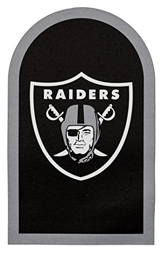 Applied Icon NFL Oakland Raiders Mailbox Door Logo Decal