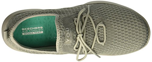 Sin Cordones Zapatillas tranquility Mujer Para Serene Skechers Gray qxt4w6Rt