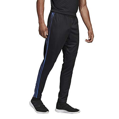 adidas Men's Soccer Tiro 19 Training Pant, Black/Blue Pearl Essence, Large ()