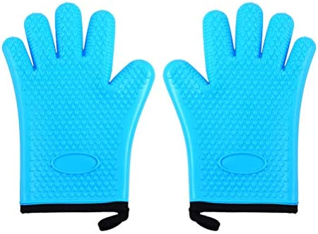 BESTONZON Manoplas para horno de silicona, guantes antideslizantes ...