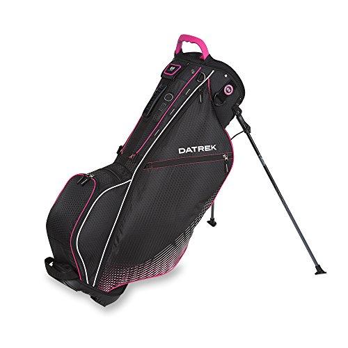 datrek-go-lite-hybrid-stand-bag-black-pink-silver-go-lite-hybrid-stand-bag
