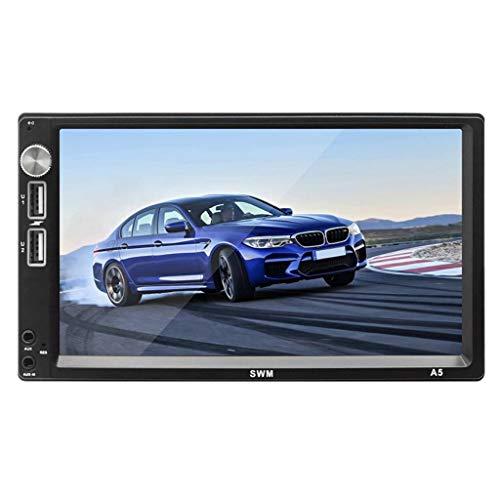 Shiwaki 7 Inch Car MP5 Player, Double Din Car Stereo: Amazon.co.uk: Electronics