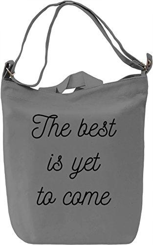 For better future Borsa Giornaliera Canvas Canvas Day Bag| 100% Premium Cotton Canvas| DTG Printing|