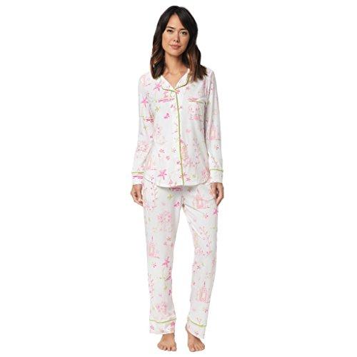 The Cat's Pajamas Pagoda Knit Pajama Medium