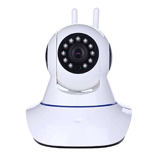 Home Security Camera, KING DO WAY HD IP Camera 720P Wireless Surveillance Night Vision Network For Baby and Pet Monitor with Two-way Audio White