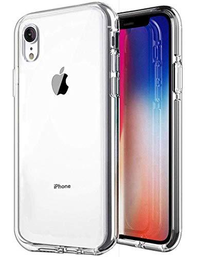 iPhone XR Case, SKTGSLAMY Soft TPU Case Crystal Transparent Slim Anti Slip Case Back Protector Case Cover for Apple iPhone XR 6.1