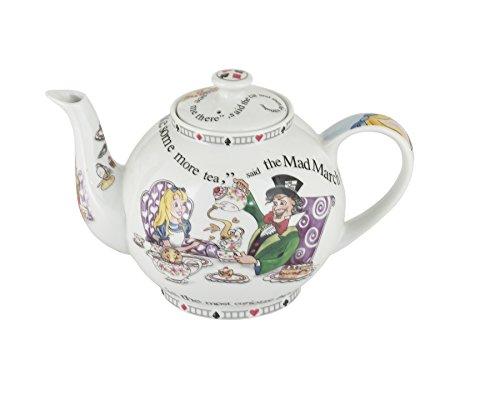 Alice In Wonderland 32oz Teapot By Cardew Design (Cat On Alice And Wonderland)