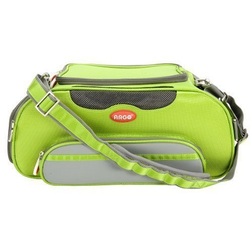 Teafco Argo Airline Approved Aero-Pet Carrier, Small, Kiwi Green by Teafco