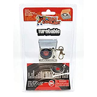 World's Smallest World's Coolest Turntable