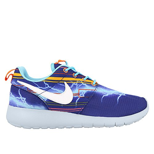 Nike Roshe One Print (GS) Zapatillas de running, Niños Blanco-Azul