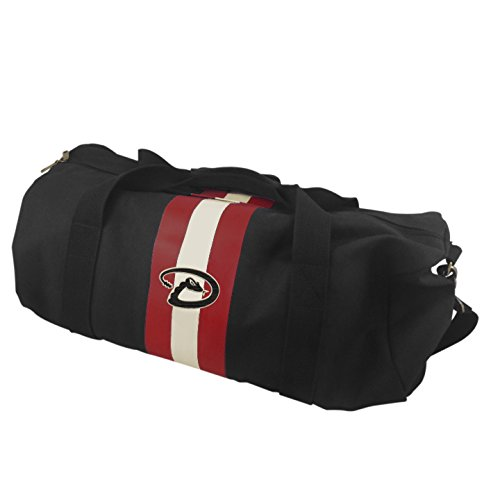 MLB Arizona Diamondbacks Rugby Duffel Bag, Black ()