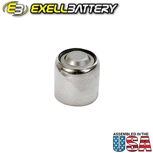 Exell Battery A1PX 1.5-Volt Alkaline Battery (White) (Battery Px1)