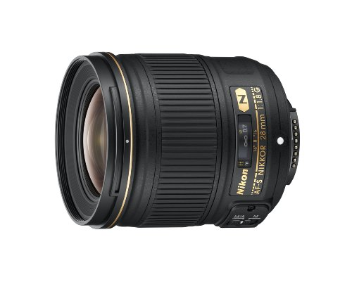 Nikon AF FX NIKKOR 28mm f/1.8G Compact Wide-angle Prime Lens with Auto Focus for Nikon DSLR Cameras (Best Prime Lenses For Nikon D810)