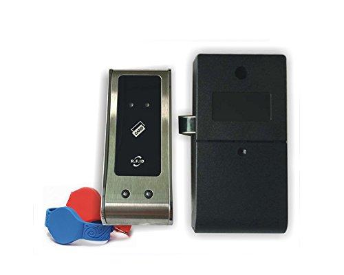 125KHz EM RFID Smart Digital Lock cerraduras de sauna para spa piscina gimnasio Electronic Gabinete Lock + 1Pulsera