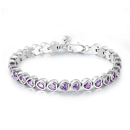 Purple Heart Charm - 4