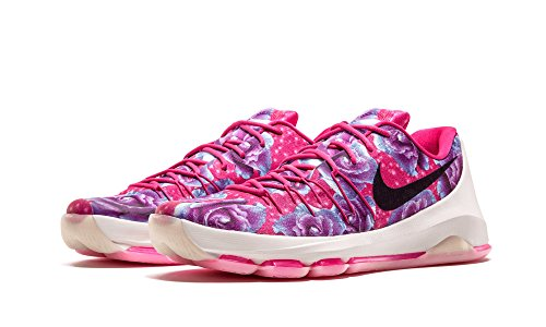 Nike Hommes Kd 8 Prm Basket Chaussure Rose Vif, Noir-fantôme