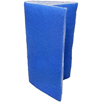 "Seapora 56065 Blue Bonded Filter Pad, 24"" x 15"""