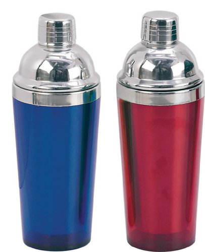 Paderno World Cuisine San Blue Plastic 16-Ounce Cocktail Shaker by Paderno World Cuisine